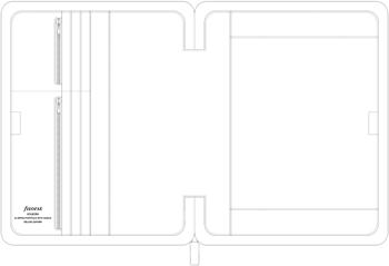 Filofax Holborn Mappa A4 Zip Fogantyúval Fekete  c747de7411